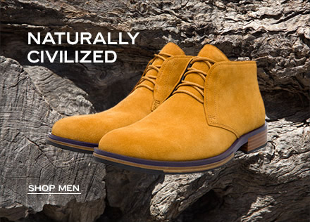 NATURALLY CIVILIZED - shop men
