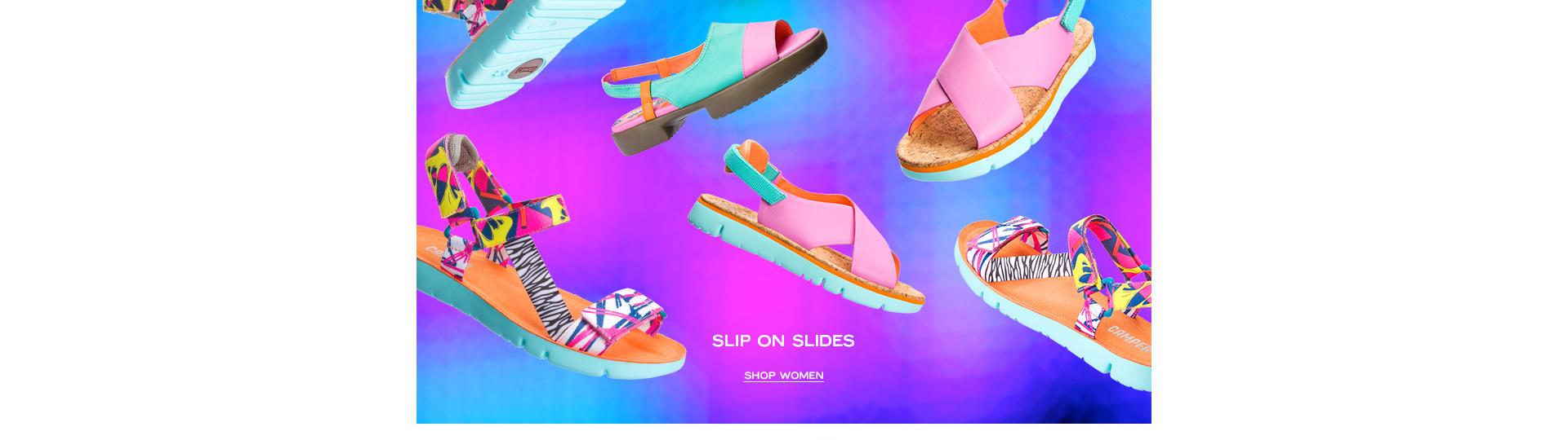 SLIP ON SLIDES