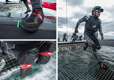 Camper official supplier of emirates team new zealand challenger for the 34th america's cup